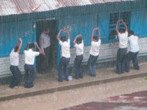 Violence on students