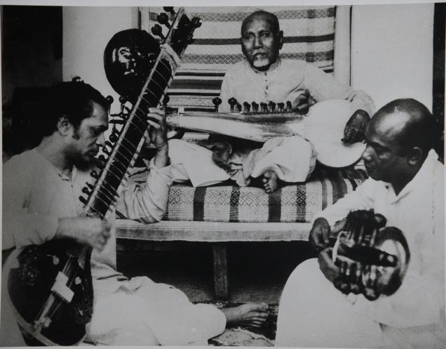 Ravi Shankar, Ali Akbar and Baba Alauddin Khan