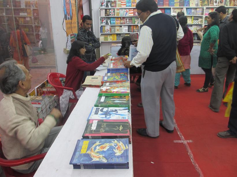 Calcutta, where ordinary people still save money to buy books.