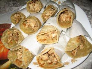 Kati Roll, with minimal amount of oil. Courtesy: Mukti's Kitchen.