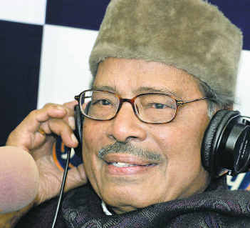 Manna Dey recorded 3,500 songs -- primarily in Bengali, Hindi and Urdu.