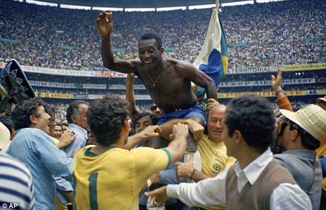 Pele Brazil glory