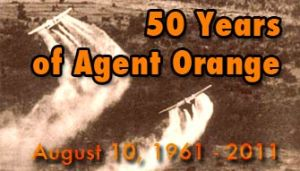 Not too long ago. Agent Orange, Vietnam. Monsanto.
