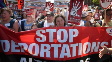 May Day Protestors March For Immigration Reform