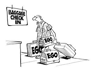 ego baggage