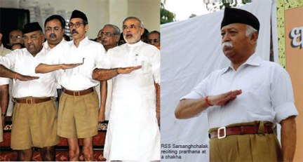 Modi, a lifelong member of the militant RSS. This is a fact. And they are proud of it too.
