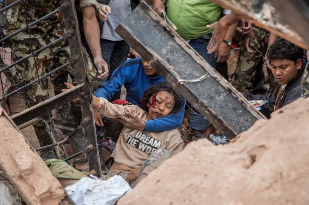Image: Kathmandu Struck By Powerful Earthquake