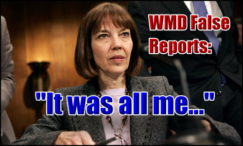 She validated the Iraq genocide with her WMD stories in New York Times.
