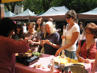 Mukti's Kitchen was invited to teach at Union Square, New York.