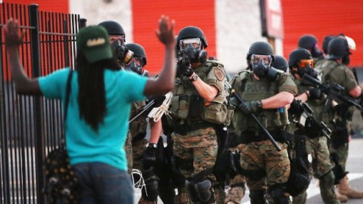 Ferguson protests. I was with them.