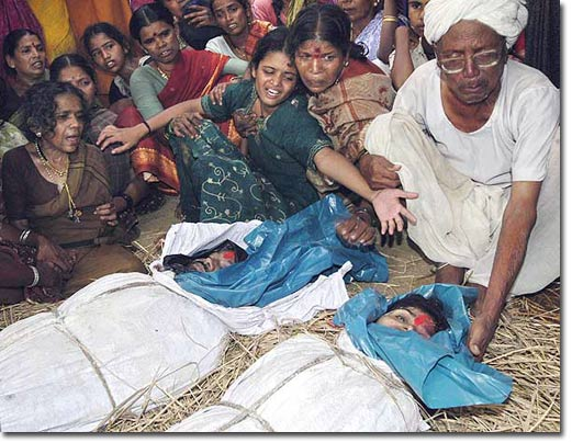 Hundreds of thousands of farmers are committing suicide in India because of Monsanto and their collusion with the Indian powers. Unprecedented in human history!