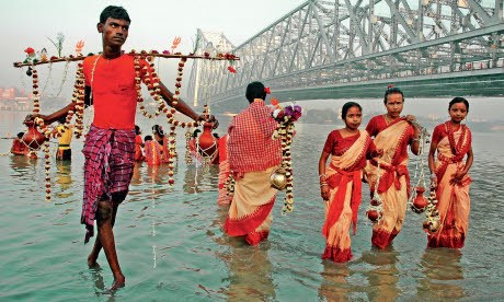 Howrah Bridge Ganges