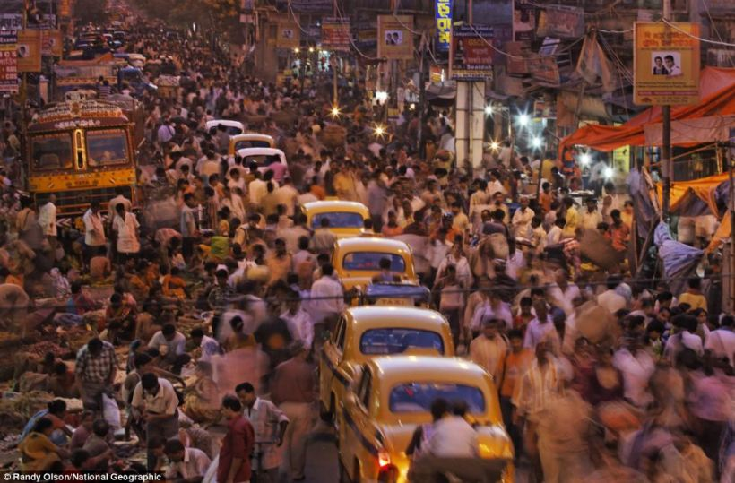 Kolkata crowd