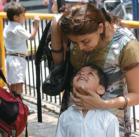 Kolkata mother child