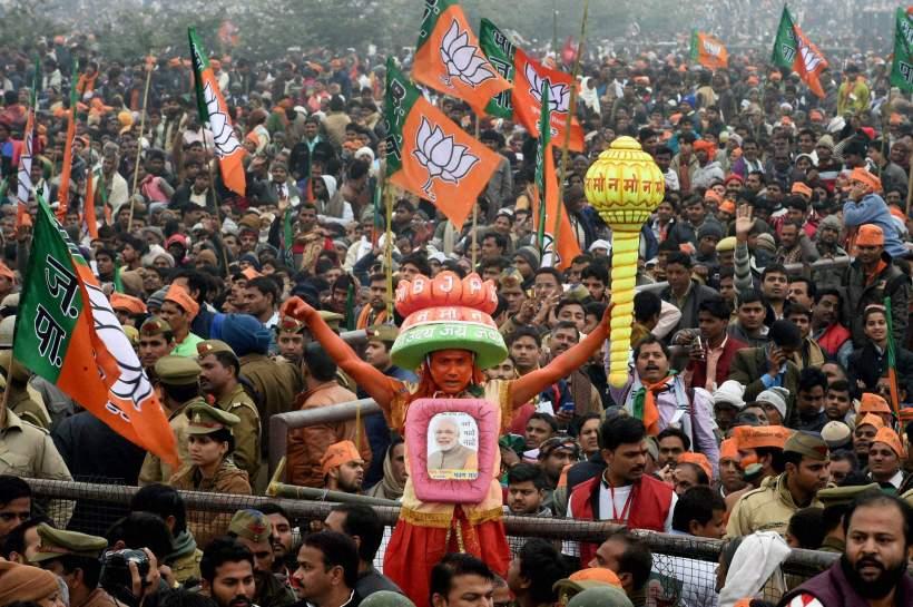 BJP win U.P.