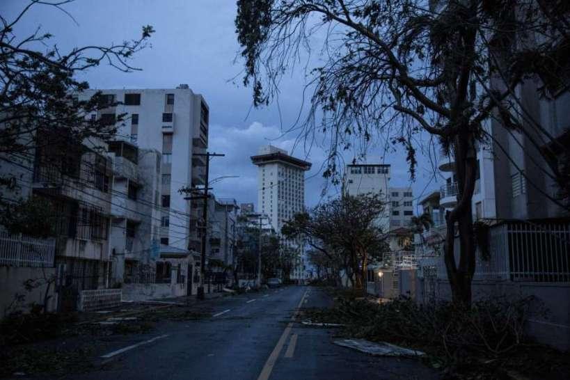 Maria destroys Puerto Rico