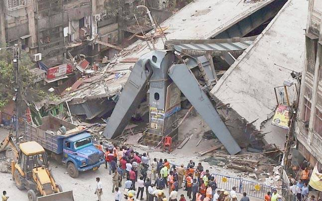 Calcutta Flyover Collapse India Today