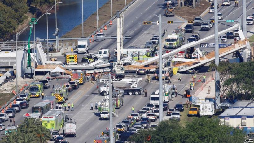 FIU bridge collapse gdb voanews