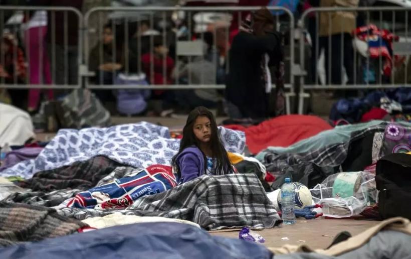 migrant-caravan Newsweek