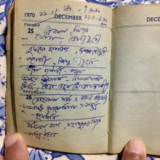 Diary from Calcutta